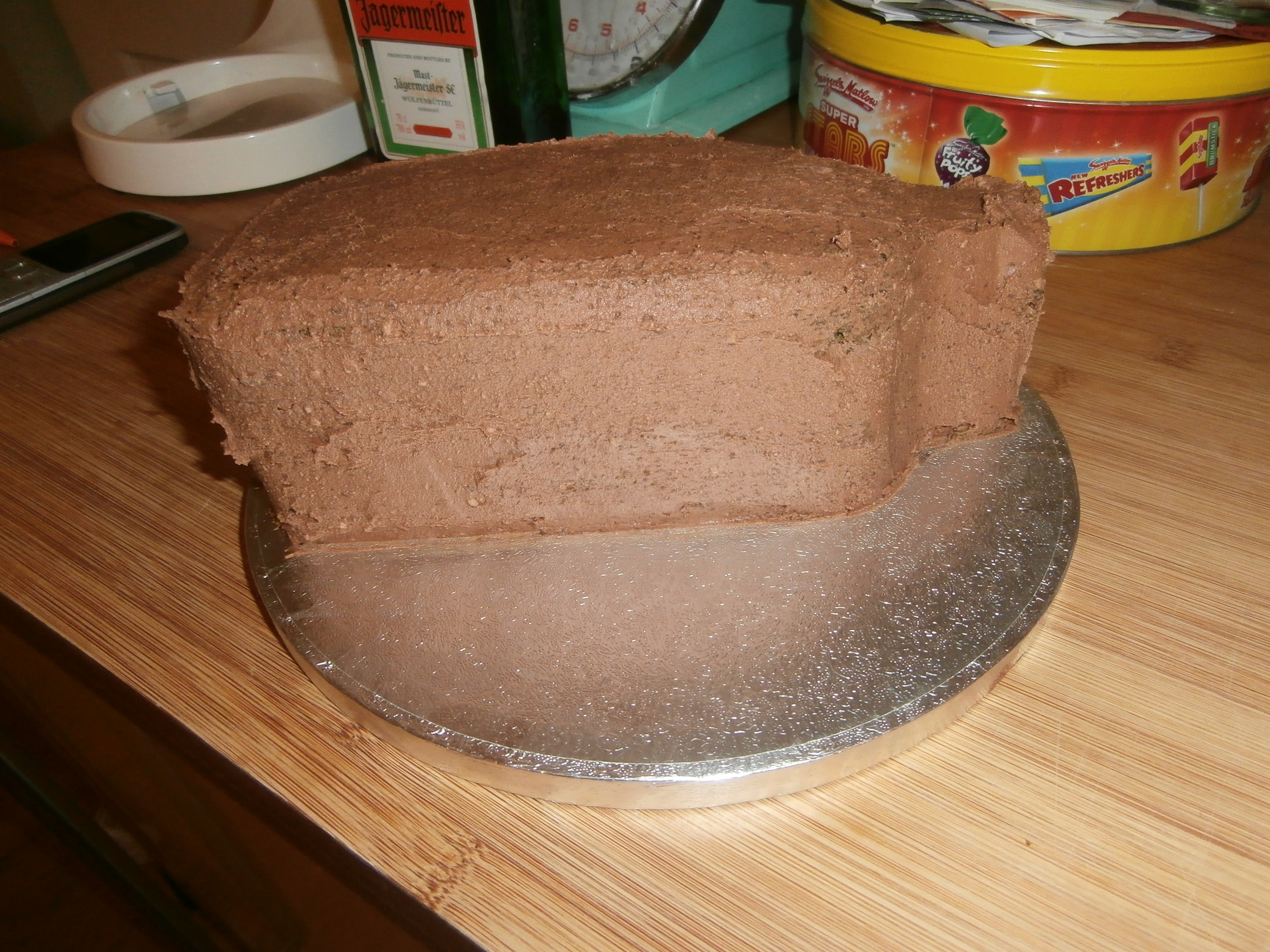 Jagerbomb Birthday Cake Two Little Cake Ladies