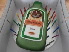 Jagerbomb Cake