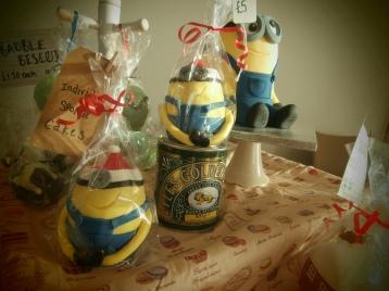 Festive Fat Minions