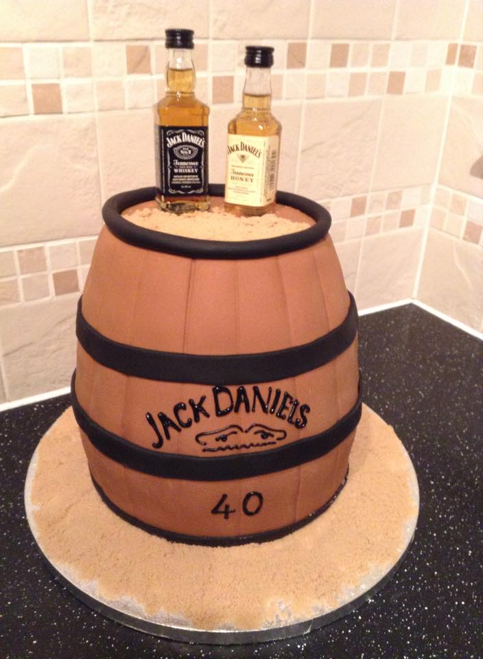 How To Make A Whisky Barrel Cake