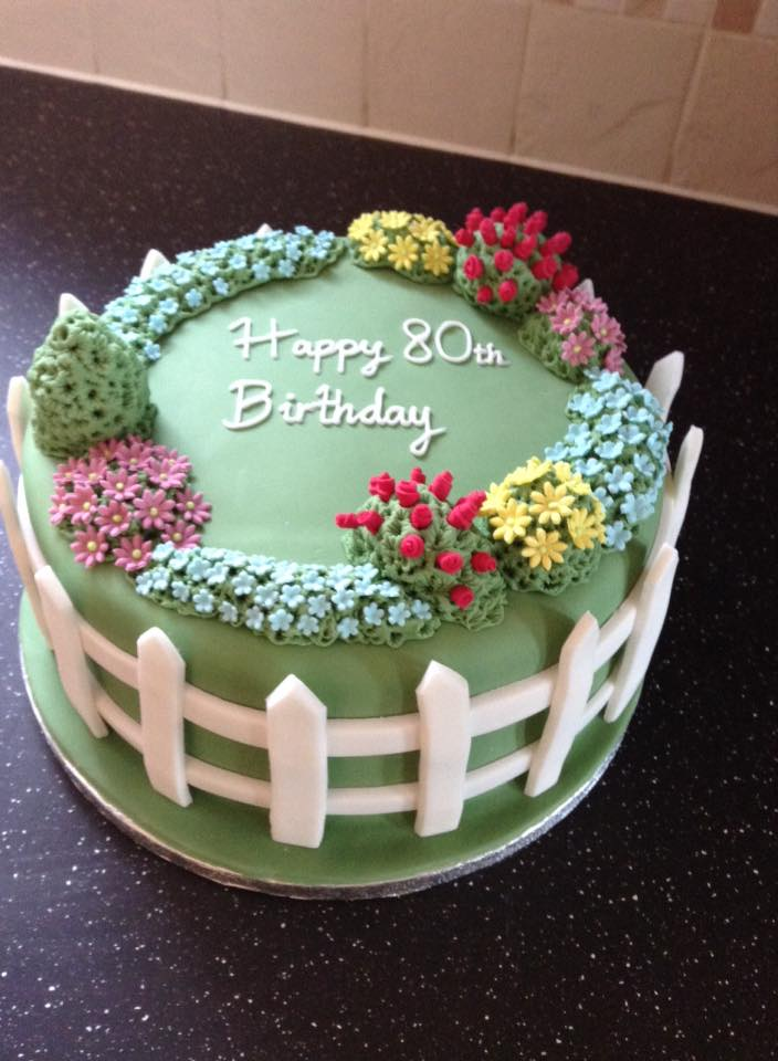 80th Birthday Two Little Cake Ladies
