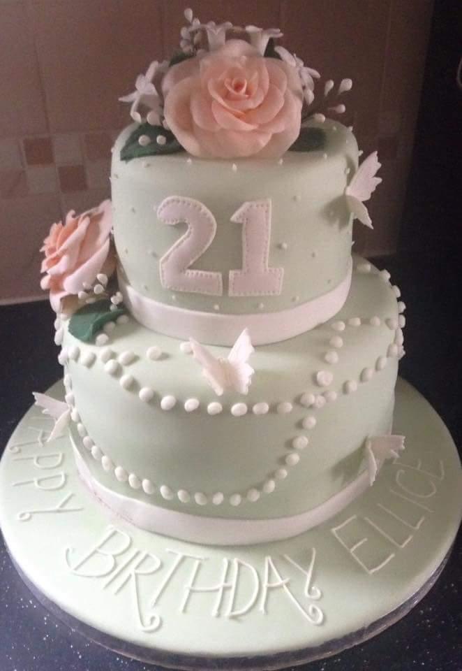 birthday cake Two Little Cake Ladies